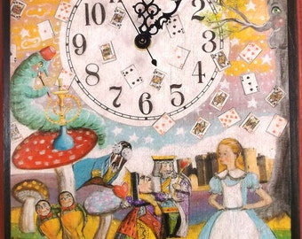 Alice in Wonderland Clock..