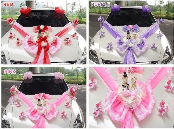 Wedding Car Decoration Diy : Diy new wedding doll car decoration kit bridal decor