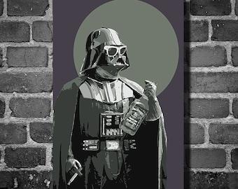 Star Wars darth fader movie poster minimalist poster star wars art darth vader