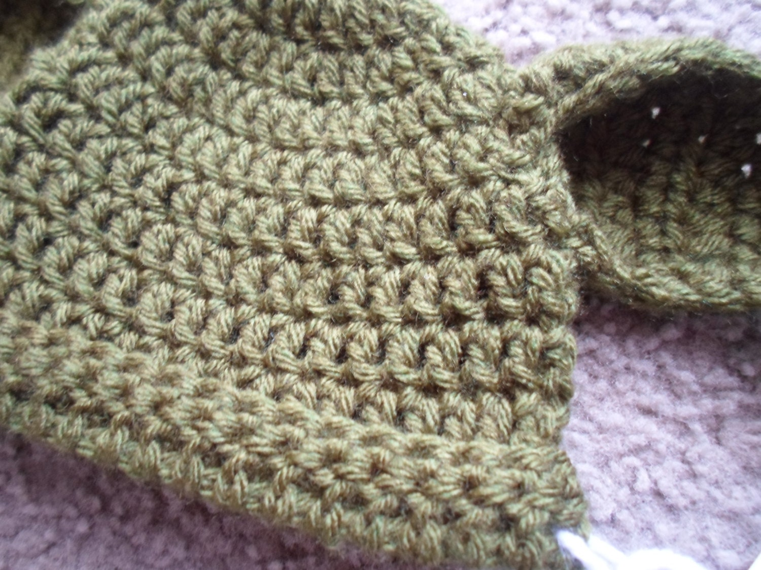 Crochet PDF Pattern. Yoda Hat Instant by DarlingBabyCreations