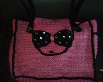 Crocheted Diaper Bag