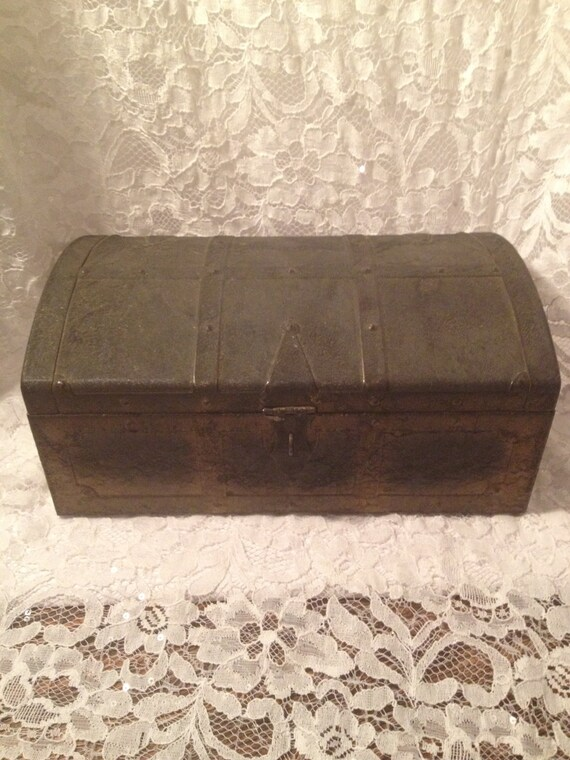 Kennedy Tool Boxes >> Old Metal Box Made by Kennedy Mfg. Co. Vanwert Ohio Tool