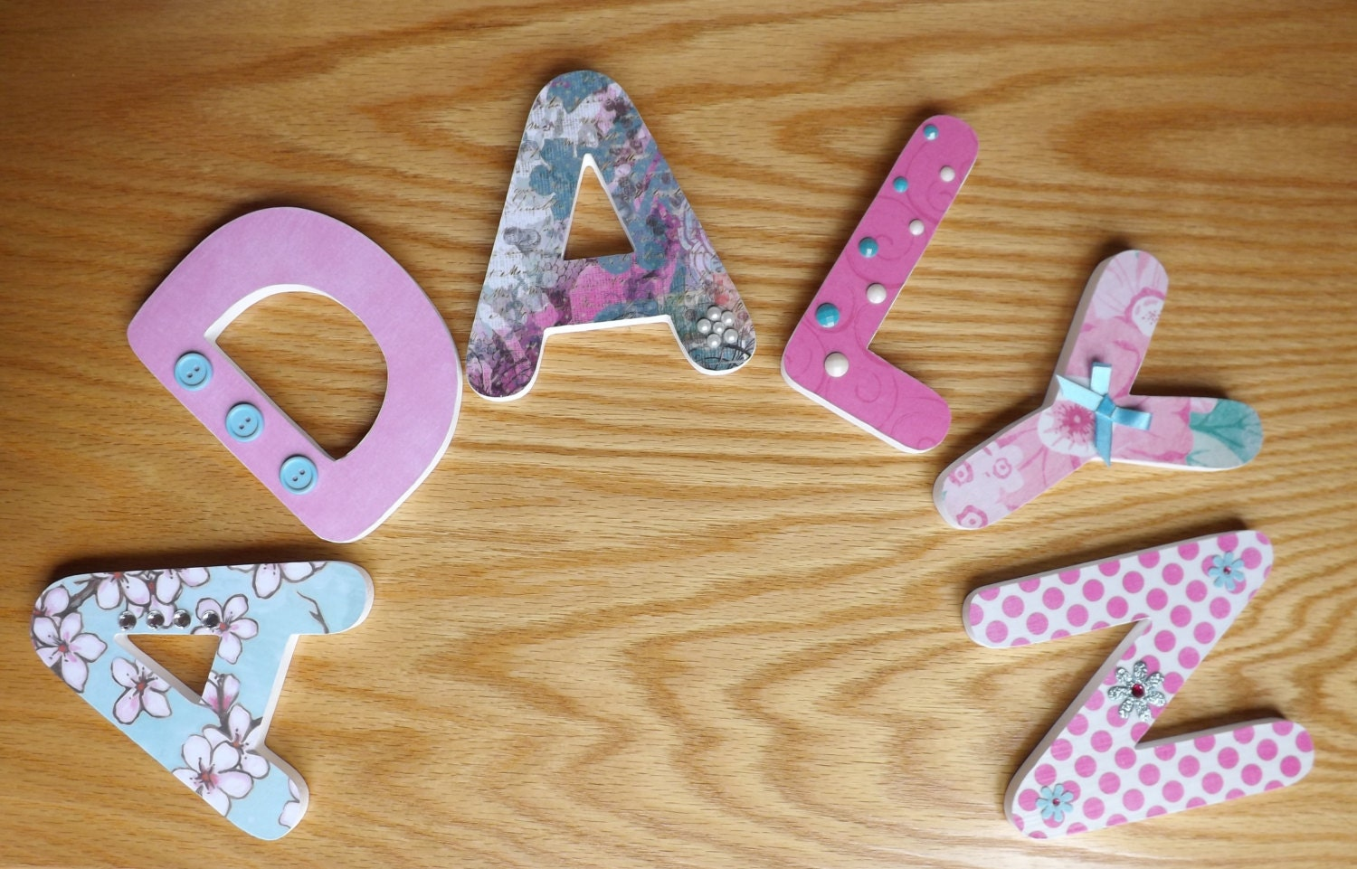 5 inch wooden letters 5 1 4 inch decorative wooden nursery wall letters custom 20222 | il fullxfull.587715215 9wye