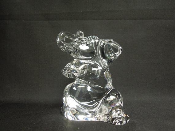 Items similar to villeroy and boch crystal elephant for Villeroy boch crystal