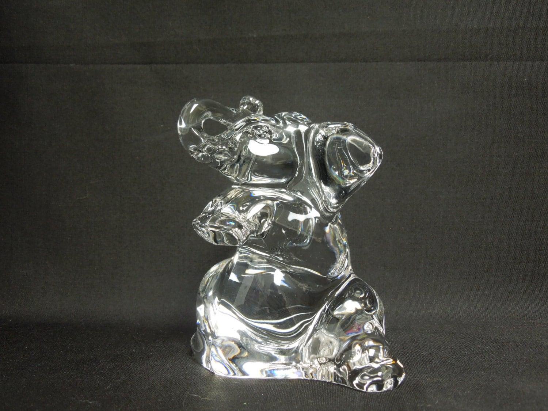 Villeroy and boch crystal elephant figurine by for Villeroy boch crystal