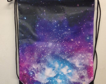 Galaxy Draw String Back Pack