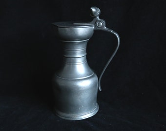 Pewter Acorn Pitcher