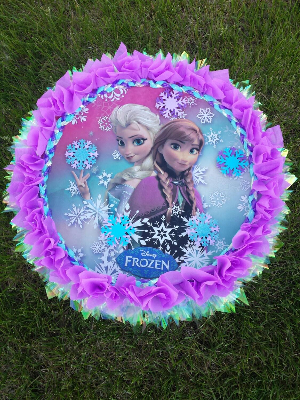 Personalized frozen pinata frozen frozen partyfrozen for Decoration pinata