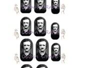Edgar Allan Poe Nail Wraps