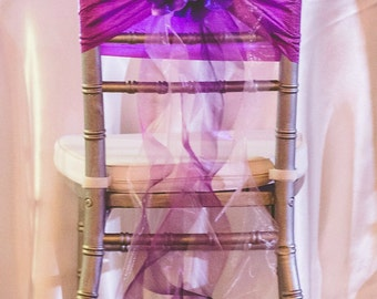 Popular Items For Wedding Chair Sashes On Etsy