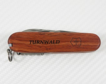 Genuine Victorinox Swiss Army Spartan Hardwood Knife