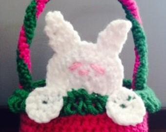 Peek A Boo Mini Easter Basket