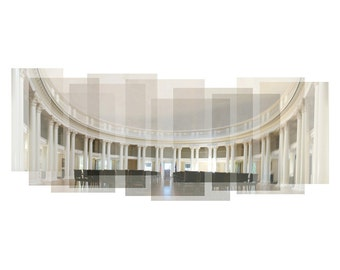 University of Virginia Rotunda - photograph, panorama, campus photograph, UVA campus, Charlottesville, UVA lawn, Virginia print, UVA Rotunda