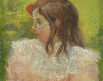 after Mary Cassatt (American, 1844-1926) oil on canvas