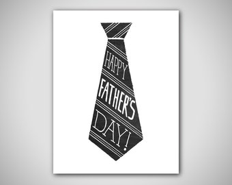 Happy Father's Day Card - Printable Father's Day Card - Card For Dad - Last Minute Gift For Dad - Gift For Him - Instant Download