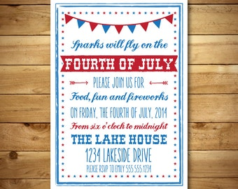 Printable chalk style wedding menu template white dark for 4th of july menu template