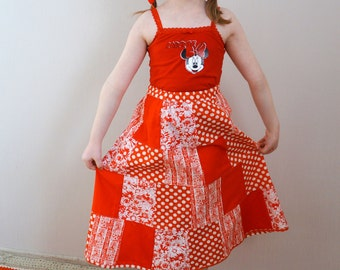 Girls Patchwork Skirt, Romantic Red Skirt, Girls Maxi Skirt, Toddlers Birthday Skirt, Handmade Summer Skirt