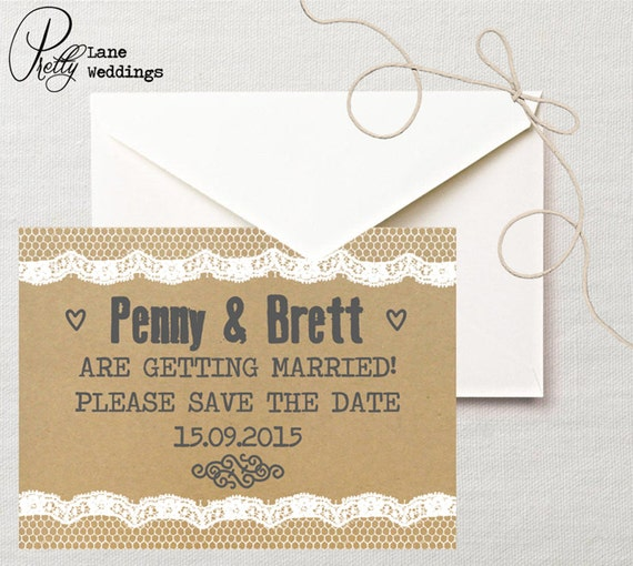The Wedding Date Quotes: Items Similar To Printable Save The Date DIY Invitation