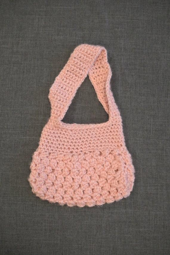 Childs crochet purse