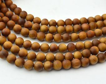 108PC  Sandalwood  8MM   Mala Finding, Buddhism Bead