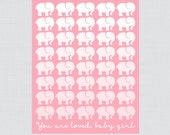 Pink Elephant Baby Shower...