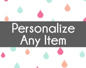 Personalize Any Item - Customize a Listing