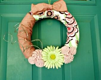 Pink Summer wreaths, spring wreath, summer wreaths, door wreaths, front door wreaths, wreaths wreath home décor flower wreath spring wreaths