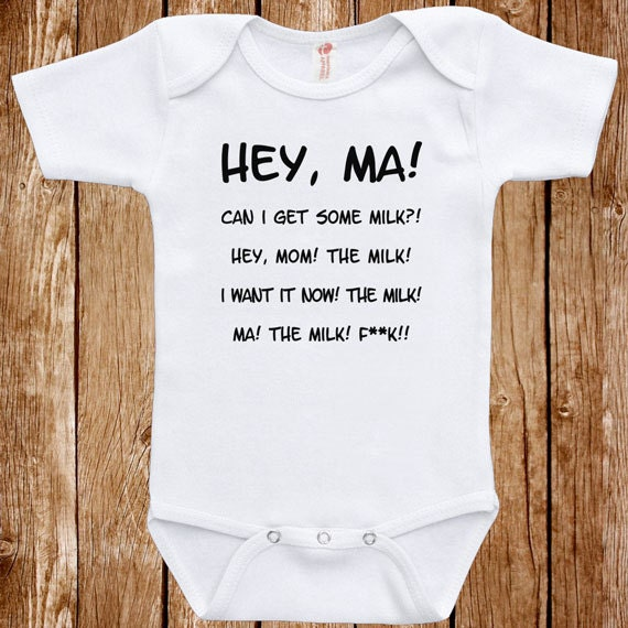 Baby Infant Bodysuit Anchor Man Quote Clothes e piece Romper
