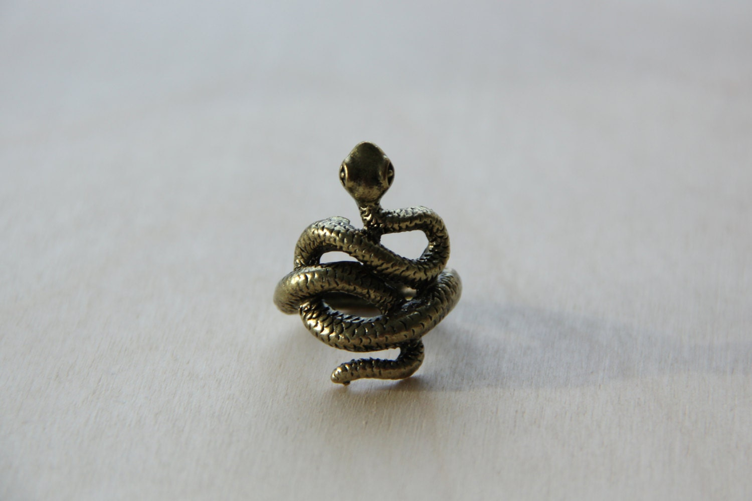 gold snake ring snake rings snake jewelry by thebohemianshop