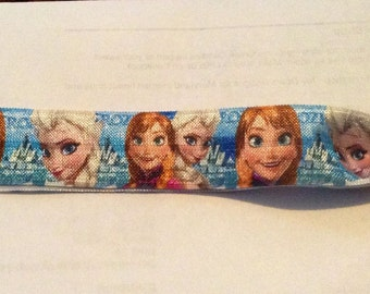 "Frozen 1"" wide elastic headband"