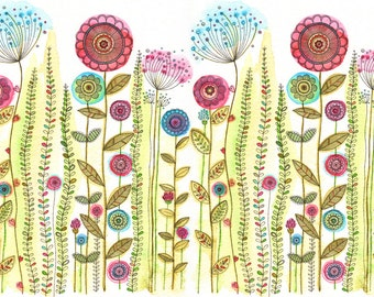 Bright, Fresh, Spring Flowers Print