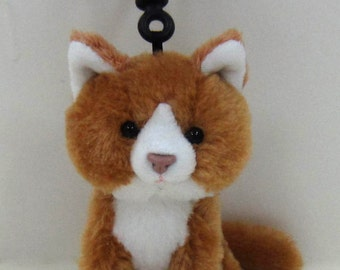 Kityu Gifts Plush mini Brown Kitten Clip