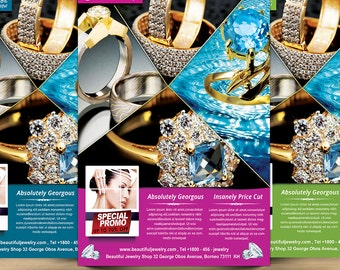 Jewelry Shop Advertising Flyer