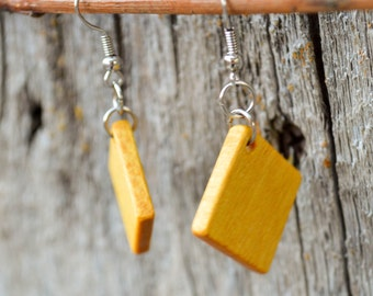 Yellowheart Diamond Earrings