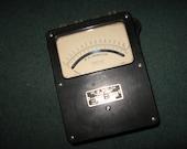 DC Ammeter 0-30 Amps 3 Ranges (1.5 3 30) WM Welch Chicago - VINTAGE Steampunk