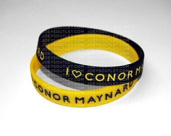 2 I Heart Conor Maynard Bracelet Wristbands THIN