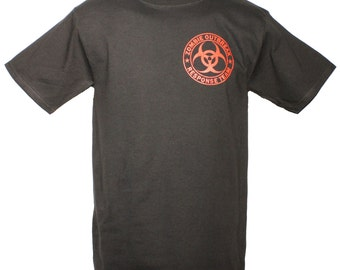 Molon Labe Zombie Outbreak Response Team Shirt
