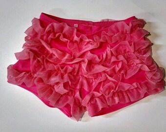 Ruffled Dance Shorts