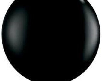 "36 inch giant black Balloon - 36"" Latex balloon-"