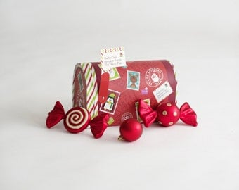 Newborn Prop Santa Mailbox