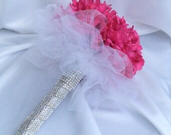 Jeweled Dahlia Bridal Bouquet