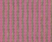 Denyse Schmidt Chicopee Heatwave Stripe in Fuschia - One Yard