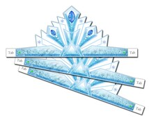 Ice Princess Crown (Instant Download)
