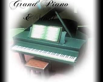 The Grand Piano 3D Template