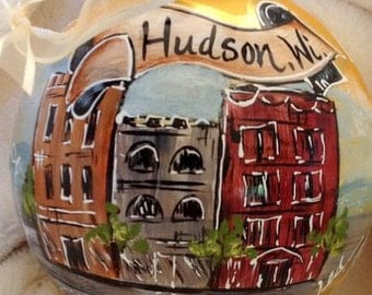 Hand Painted Ornaments by Les ~ Hudson,Wi  ~ Original Ornament