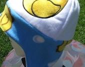Rubber Ducky Fleece Ear Flap Hat