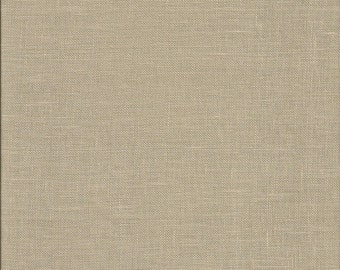 "CLAY | 28 count Cashel Linen by Zweigart | 18"" x 27"" Fat Quarter 