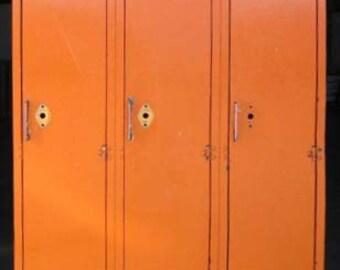 Orange Crush Vintage Lockers