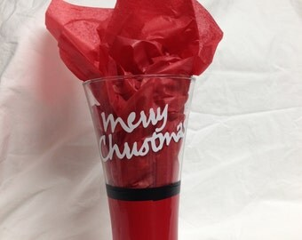 Merry Christmas Glasses (Set of 2)
