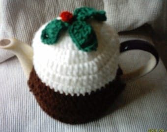 Crochet tea cosy ,medium tea cosy,Christmas tea cosy,tea cosy